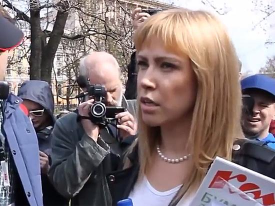 Координатора «Открытой России» Баронову оштрафовали за компанию акции «Надоел»
