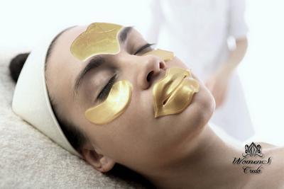 Яичная маска для подтяжки век