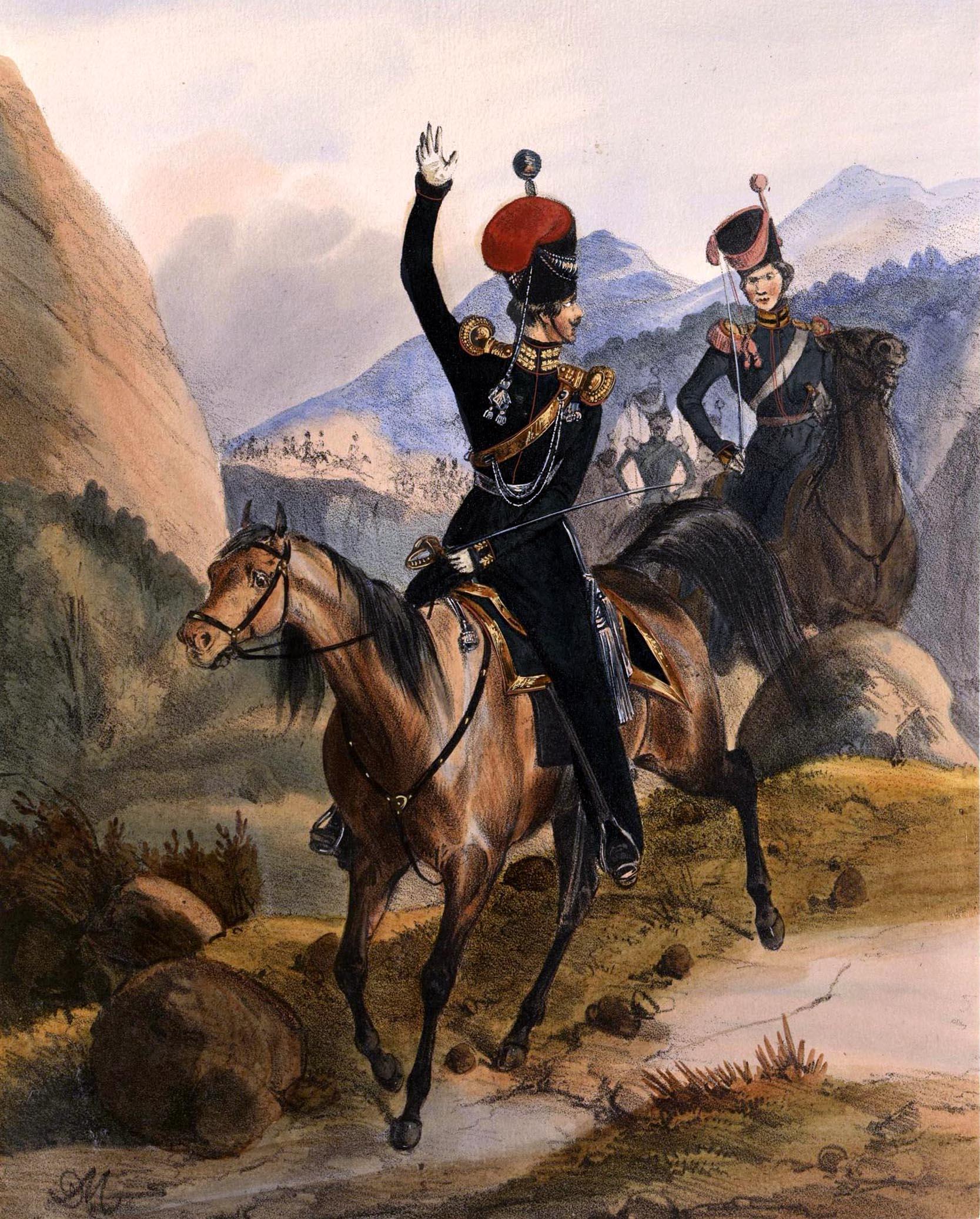 033. Kaiserthum Russland Leichte Batterie der Donischen Garde-Kosaken / Российская империя