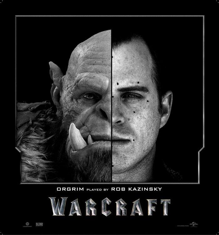 Актеры фильма «Warcraft» до и после цифровой обработки