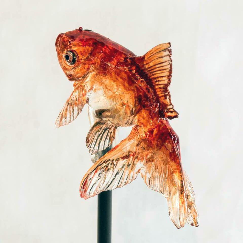 Realistic Animal Lollipops and Sugar Sculptures by 'Amezaiku' Artisan Shinri Tezuka (9 pics)