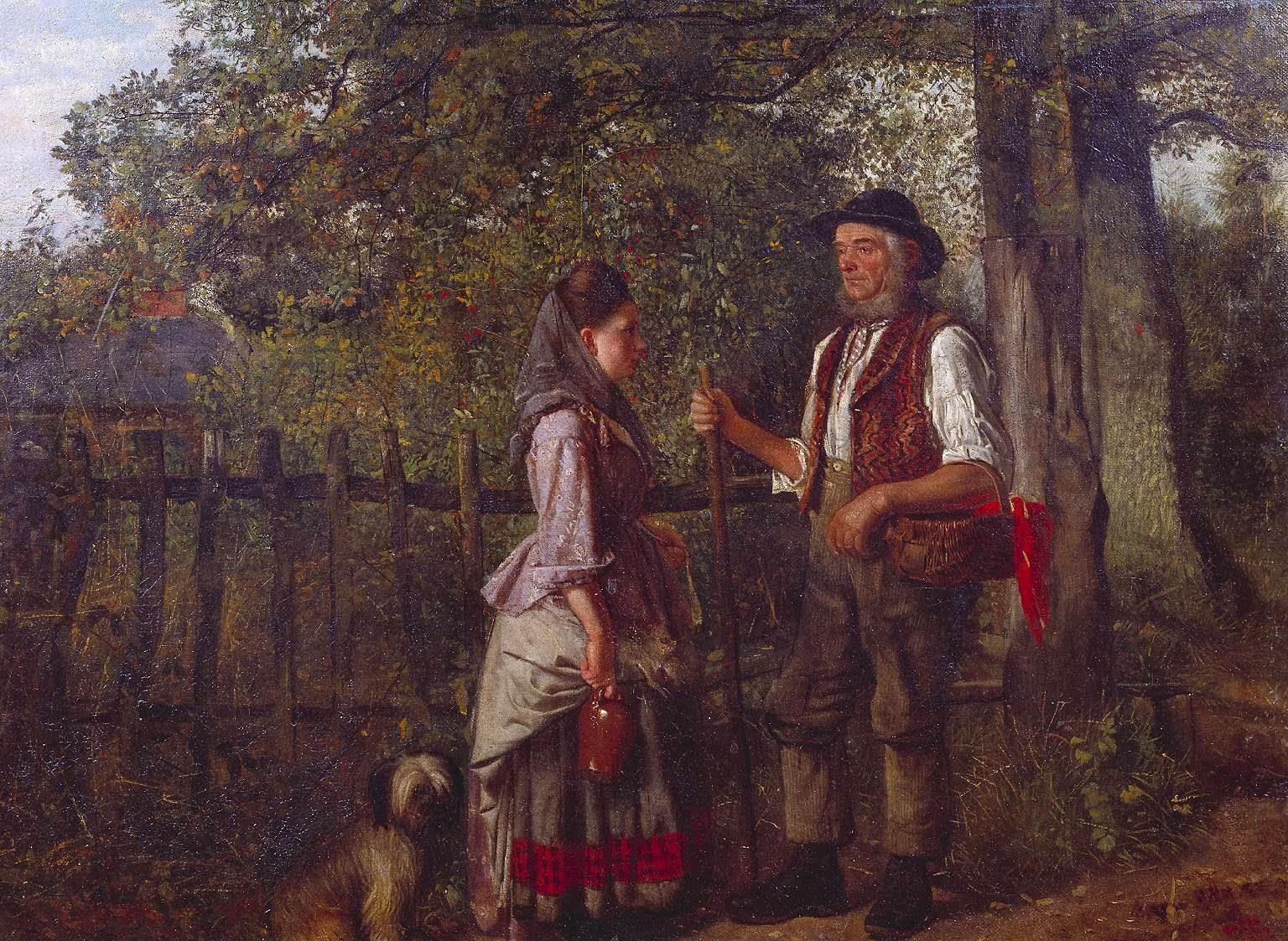 2 William Edwards Millner - A Wayside Gossip 1872.jpg