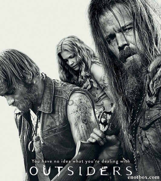 Изгои (1 сезон: 1-13 серии из 13) / Outsiders / 2016 / ПМ (NewStudio) / WEB-DLRip + WEB-DL (1080p)