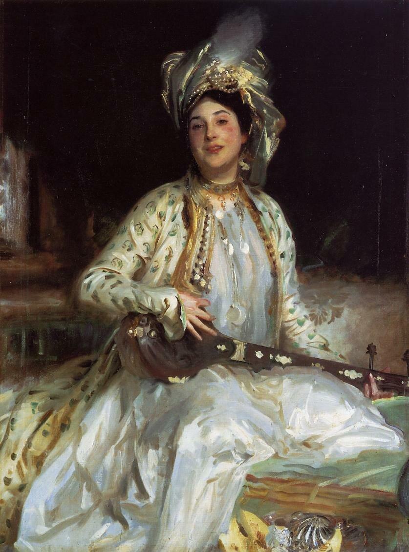 Almina, Daughter of Asher Wertheimer 1908