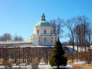 Церковный павильон Меншиковского дворца.