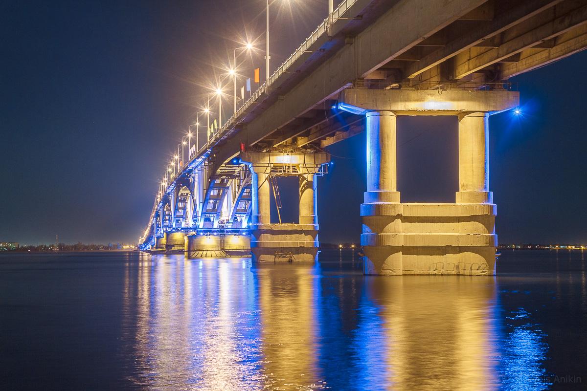 возвращение исторической подсветки на мост Саратов-Энгельс фото 6