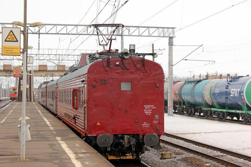 ЧС7-084 с Диагностический комплексом Интеграл на станции Павловский посад