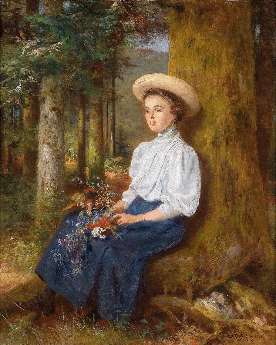 Resting in the WoodBy Anton Dieffenbach