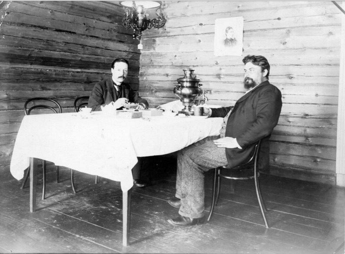 1900-е. У самовара