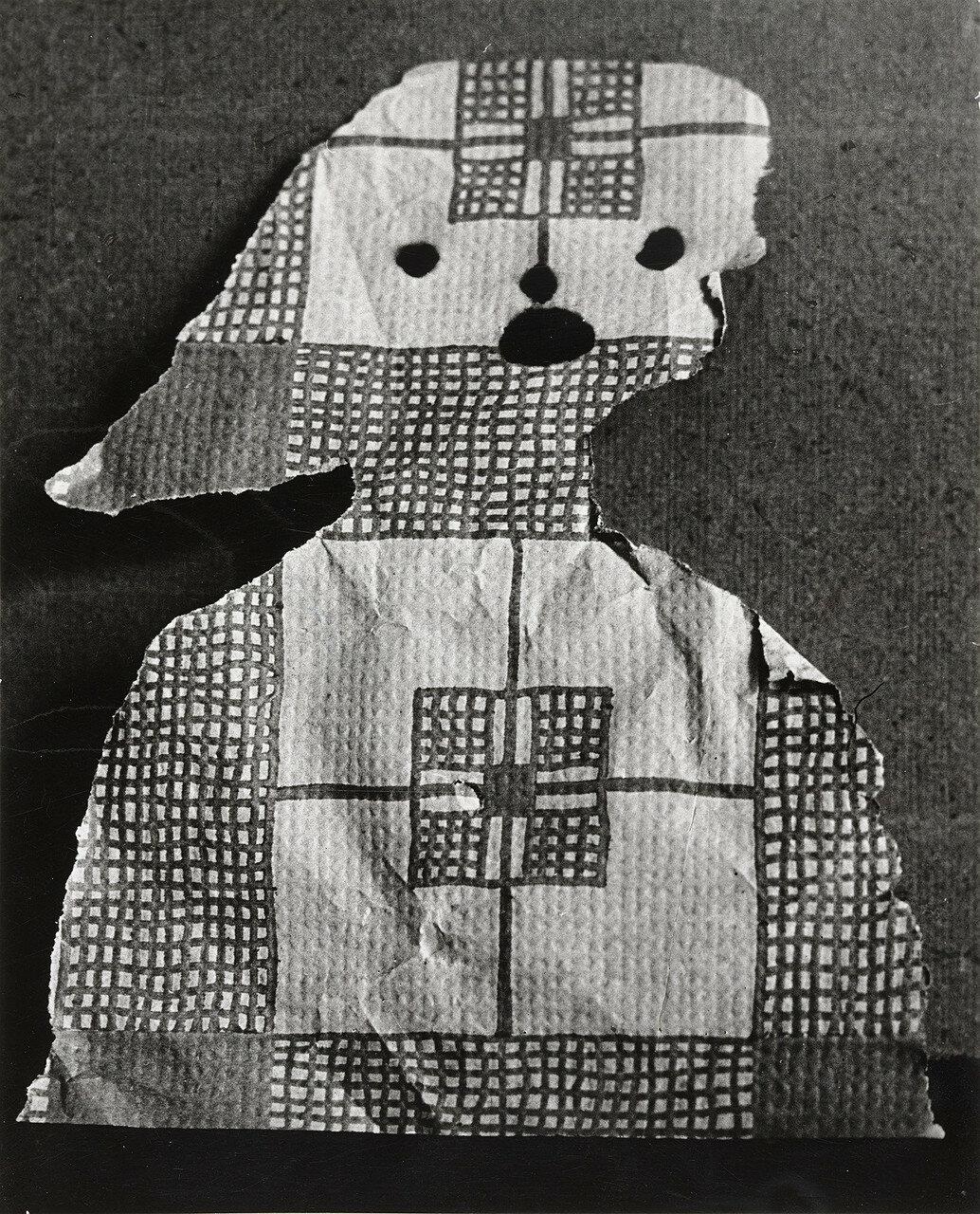 1943. Пикассо. Скульптура (бумага, девушка)