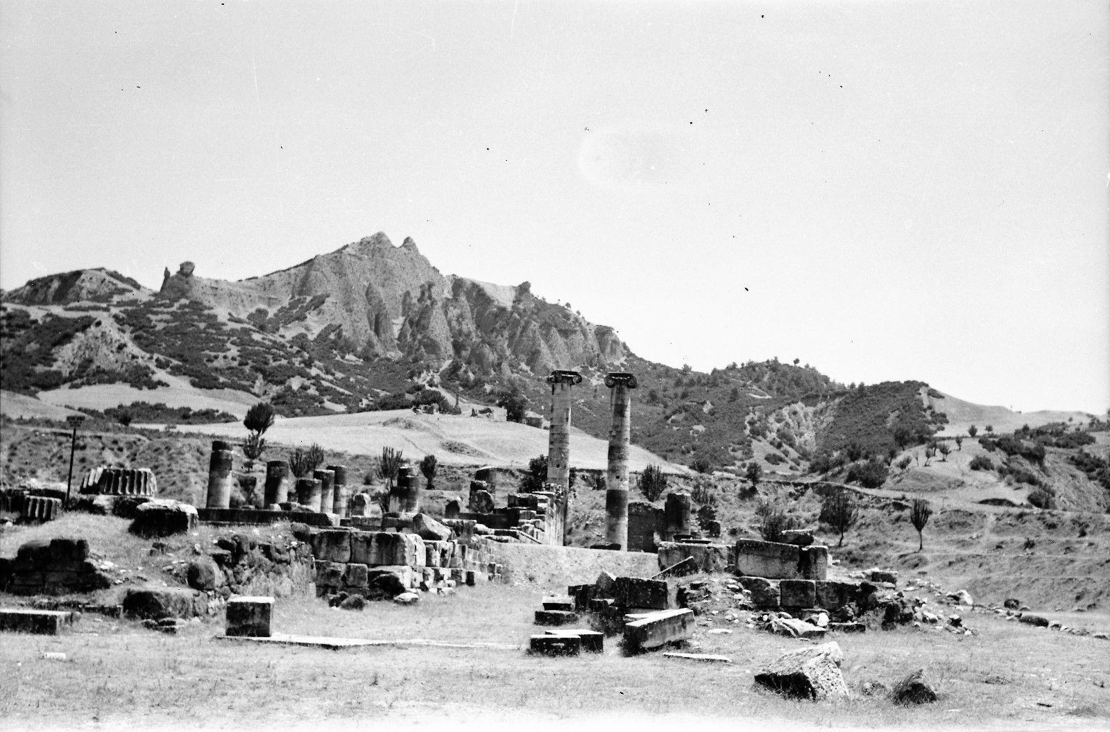 Сарды. Панорама храма Артемиды