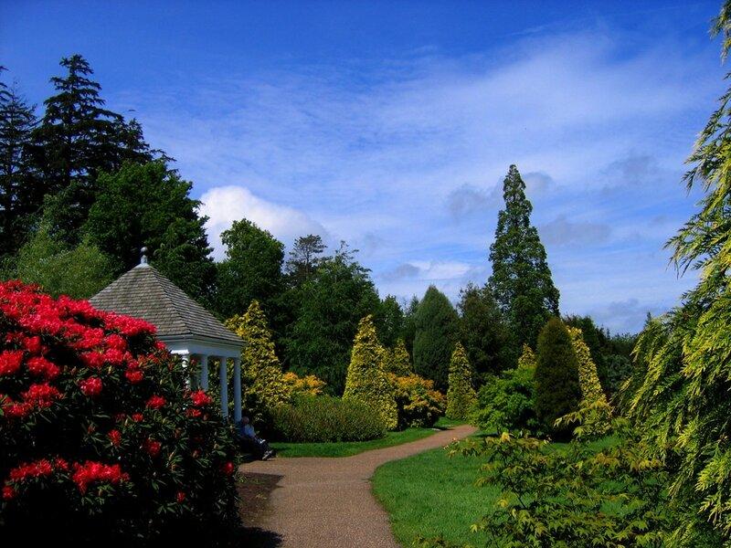 """Оригинал - Схема вышивки  """"Английский сад """" - Схемы автора  """"Lamaria """" - Вышивка крестом."""