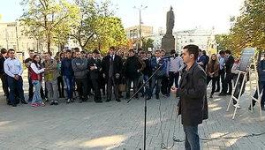 В Москве состоялась выставка, посвященная демократии