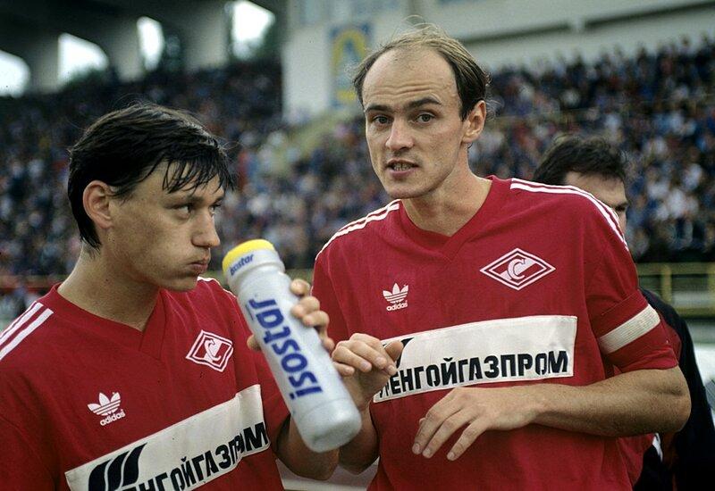 Илья Цымбаларь и Виктор Онопко