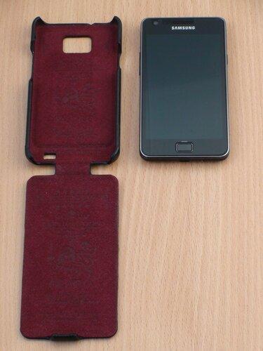 Galaxy S II с чехлом Classic baron (2)