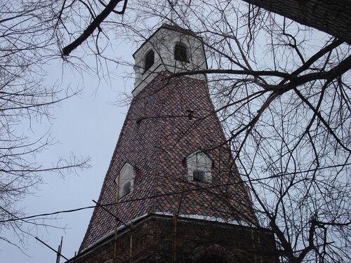 «Кузнечная» башня Симонова монастыря