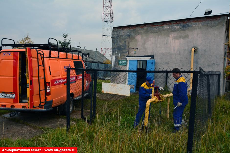 Заработала котельная в деревне Зубцово