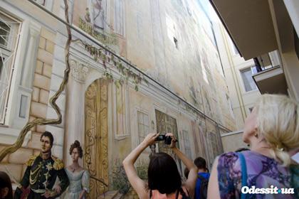 В Одессе тоже появилась масштабная фреска