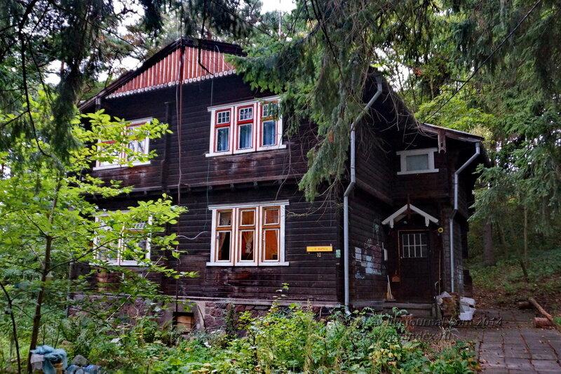 Здания немецкой постройки. Светлогорск-Rauschen