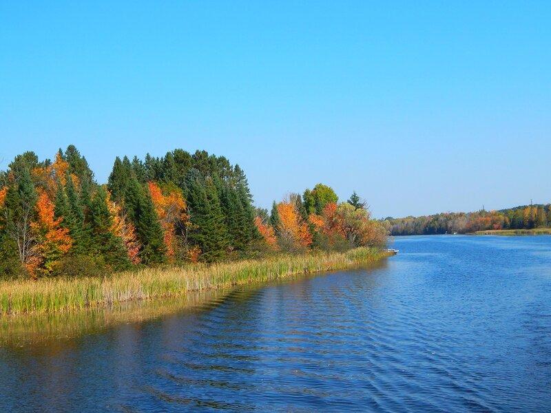 Прогулка по реке Висконсин.