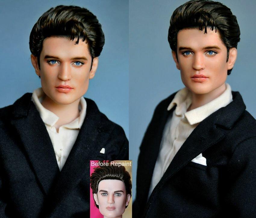 Живые лица кукол