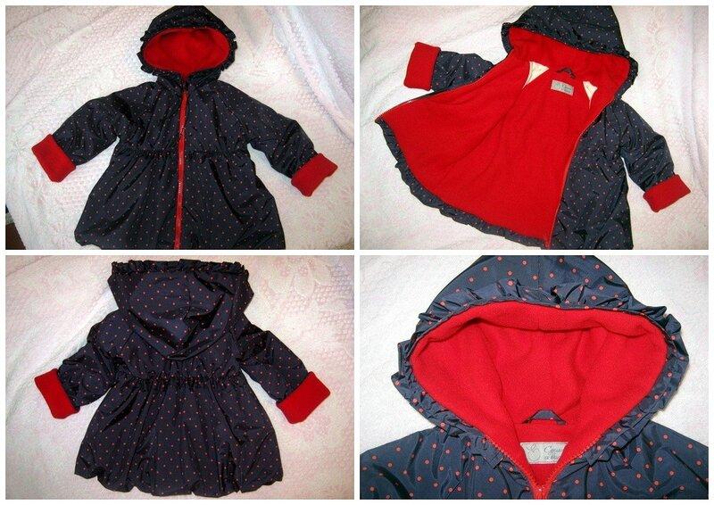 Сшить куртку для ребёнка