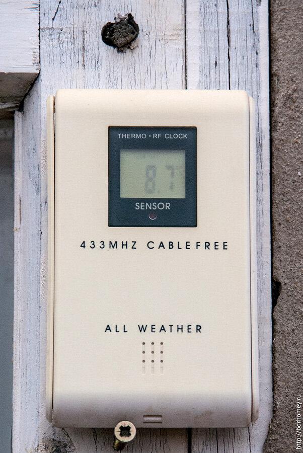 беспроводный термометр градусник