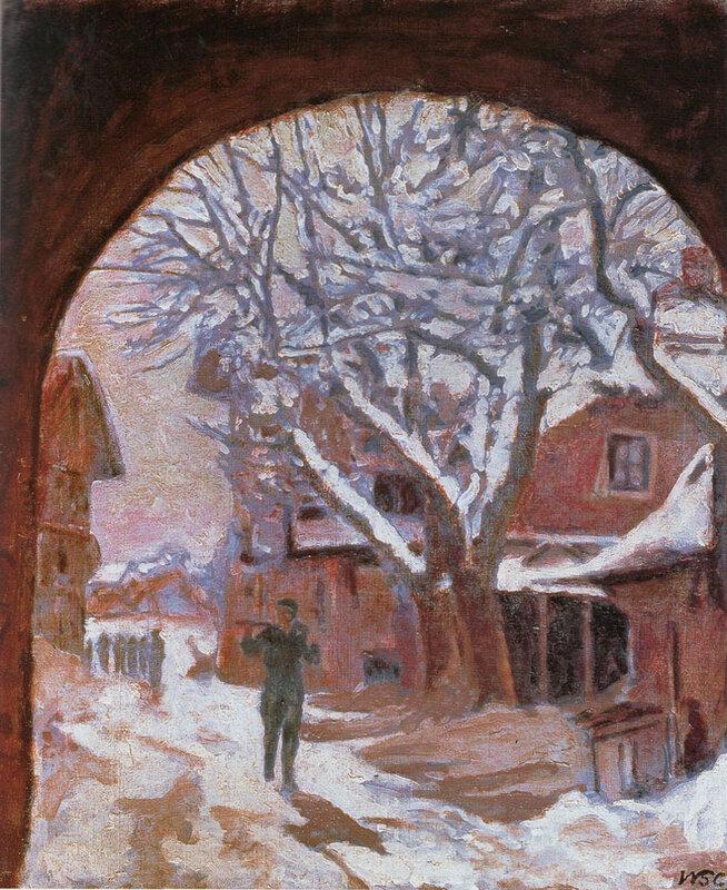 + 1935 Снег под аркой или почтальон.jpg