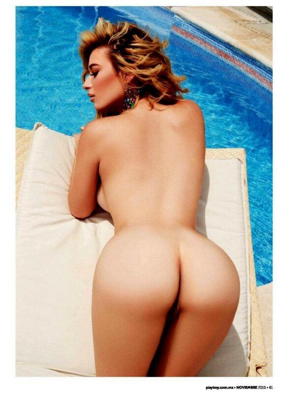 Brenda Zambrano in Playboy Mexico November 2015