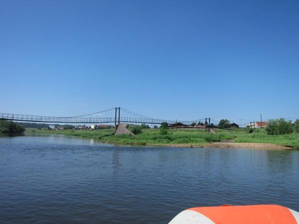 Мост вдеревне Трека