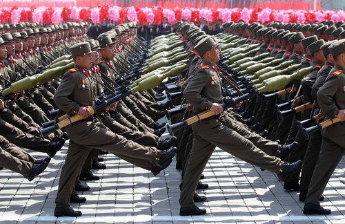 Северная корея 15 апреля день солнца