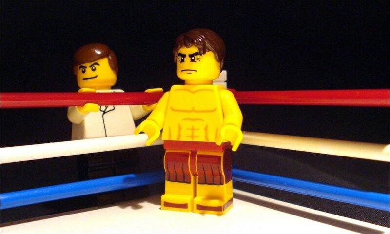 Кадры и видео: LEGO версии известных фильмов