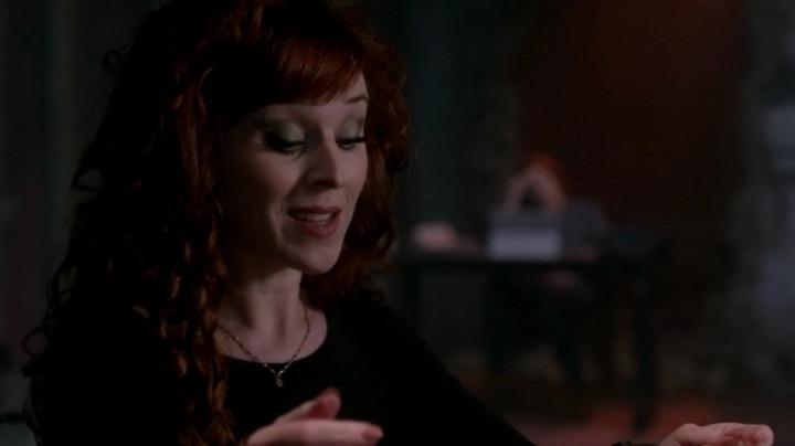 Актеры и персонажи эпизода 10.21 Dark Dynasty