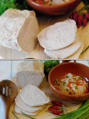 Свинина, отваренная в капустном рассоле (домашняя ветчина)