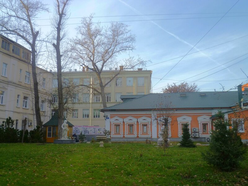 Архангельский переулок.