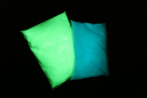 Люминофор синего и зеленого свечения
