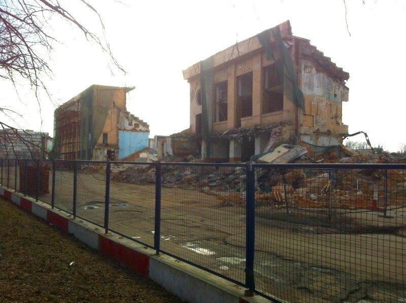 Руины Динамо