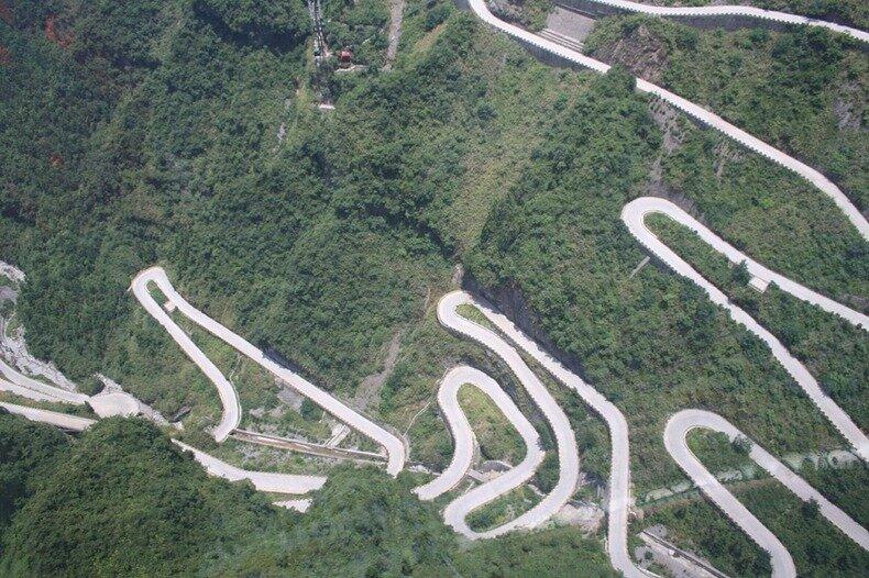 фото горных дорог