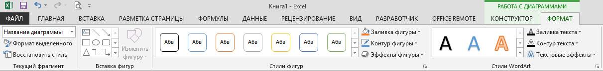 Рис. 9. Параметры вкладки Format