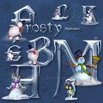 Frosty Font / Морозный шрифт