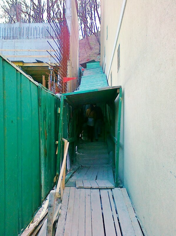 Лестница на Владимирской горке