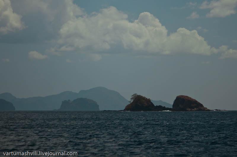 Филиппины, плавание из Бусуанги в Эль Нидо