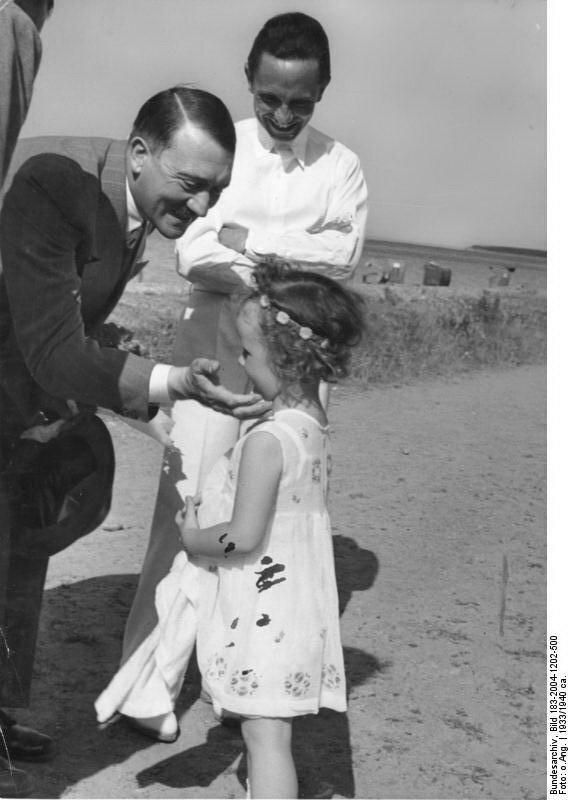 Adolf Hitler, Joseph Goebbels, Tochter