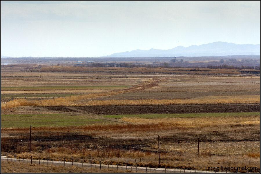 Араратская долина. Граница Турции и Армении