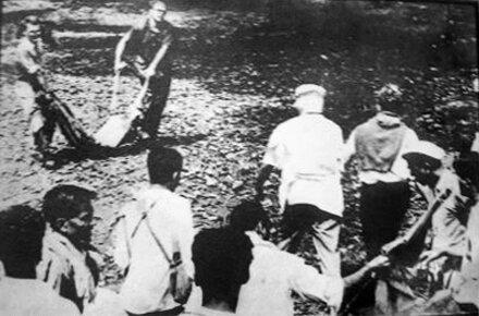 Репортеры спасают участников мирного марша, 1965