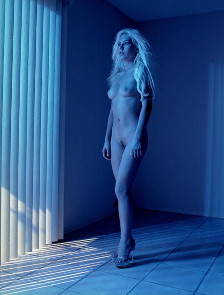 работа фотографа Альберта Уотсона / Natasia, Las Vegas, 2000 - photo by Albert Watson