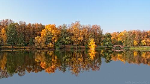 Осень в Кузьминках