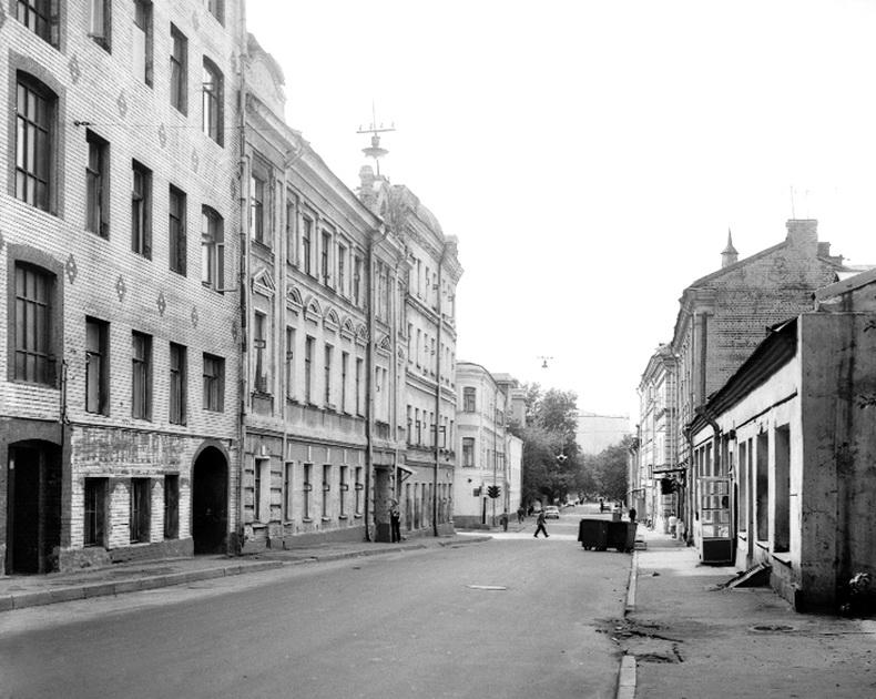 6761 Большой Сухаревский переулок. Вид в сторону Трубной улицы(1).jpg