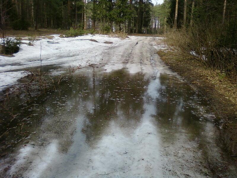Наводнение после весны