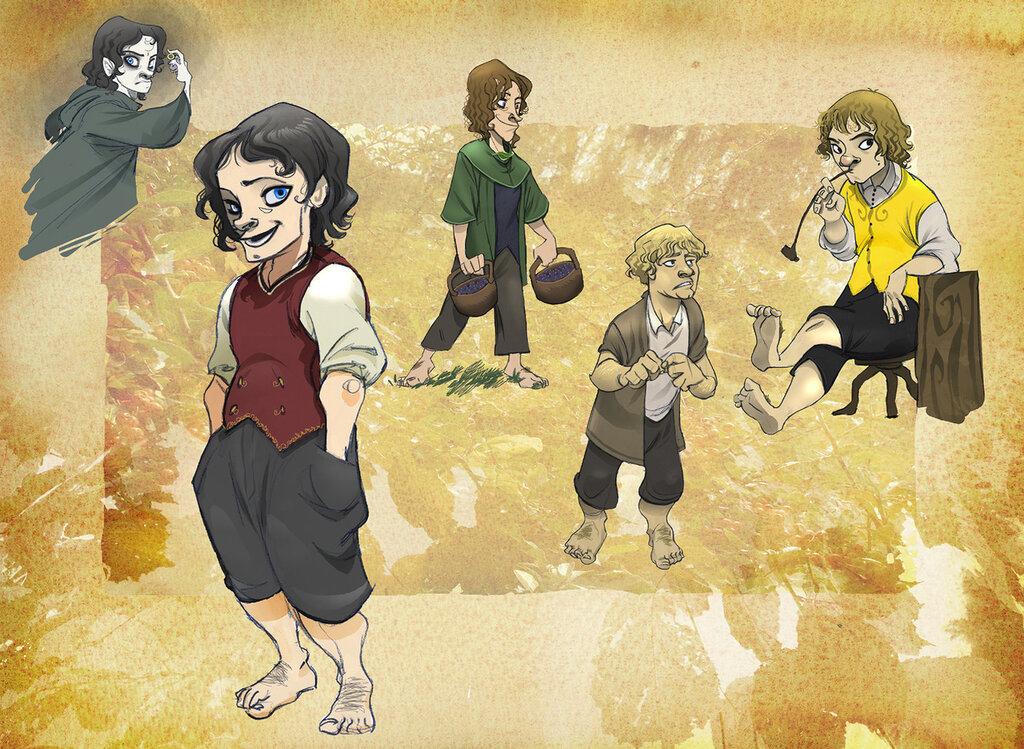 Hobbit s brotherhood - Sally Avernier